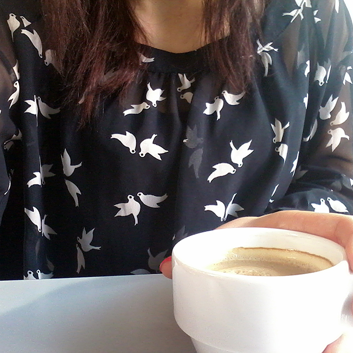 Outfit: Blue Bird Blouse