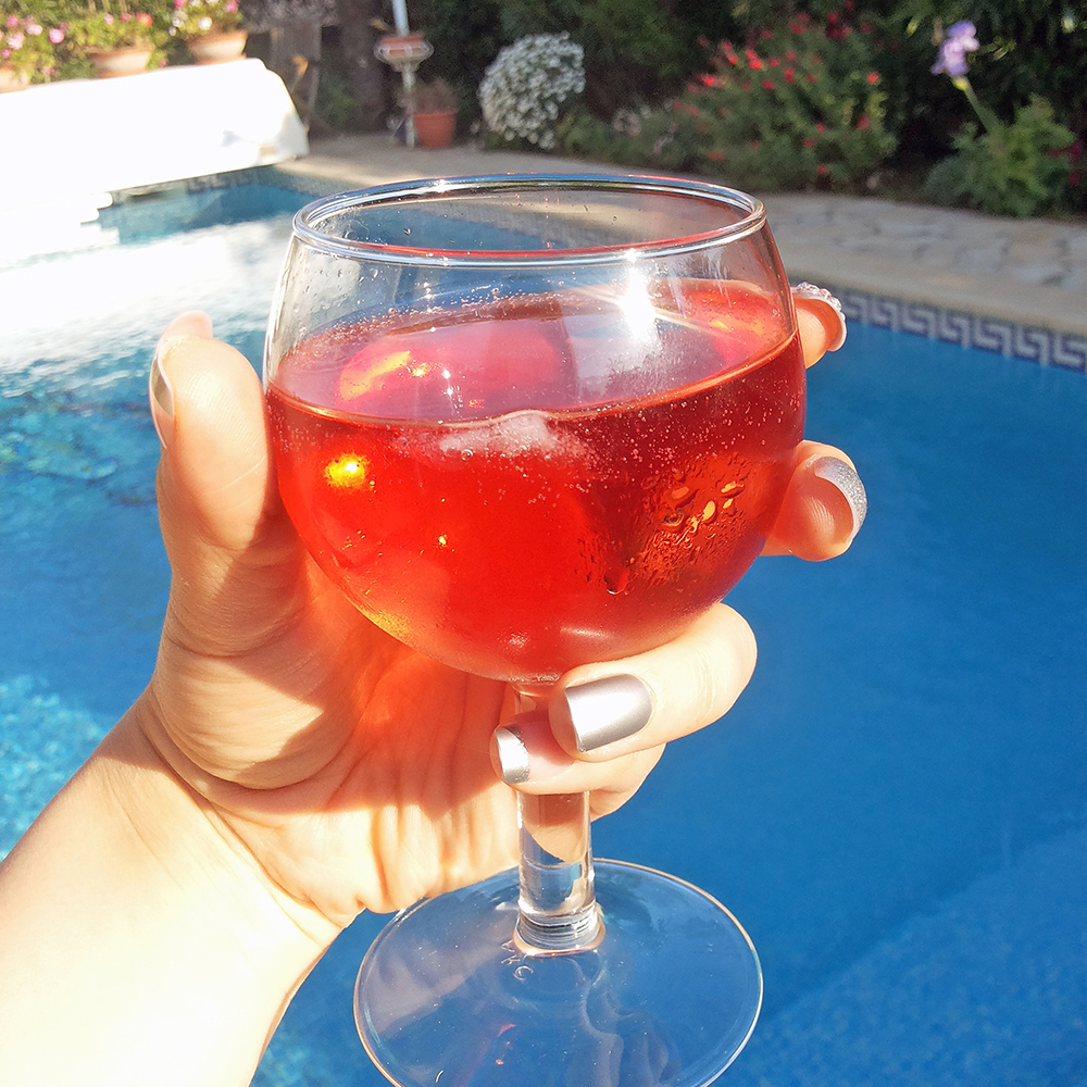 France Diary: Pool Day