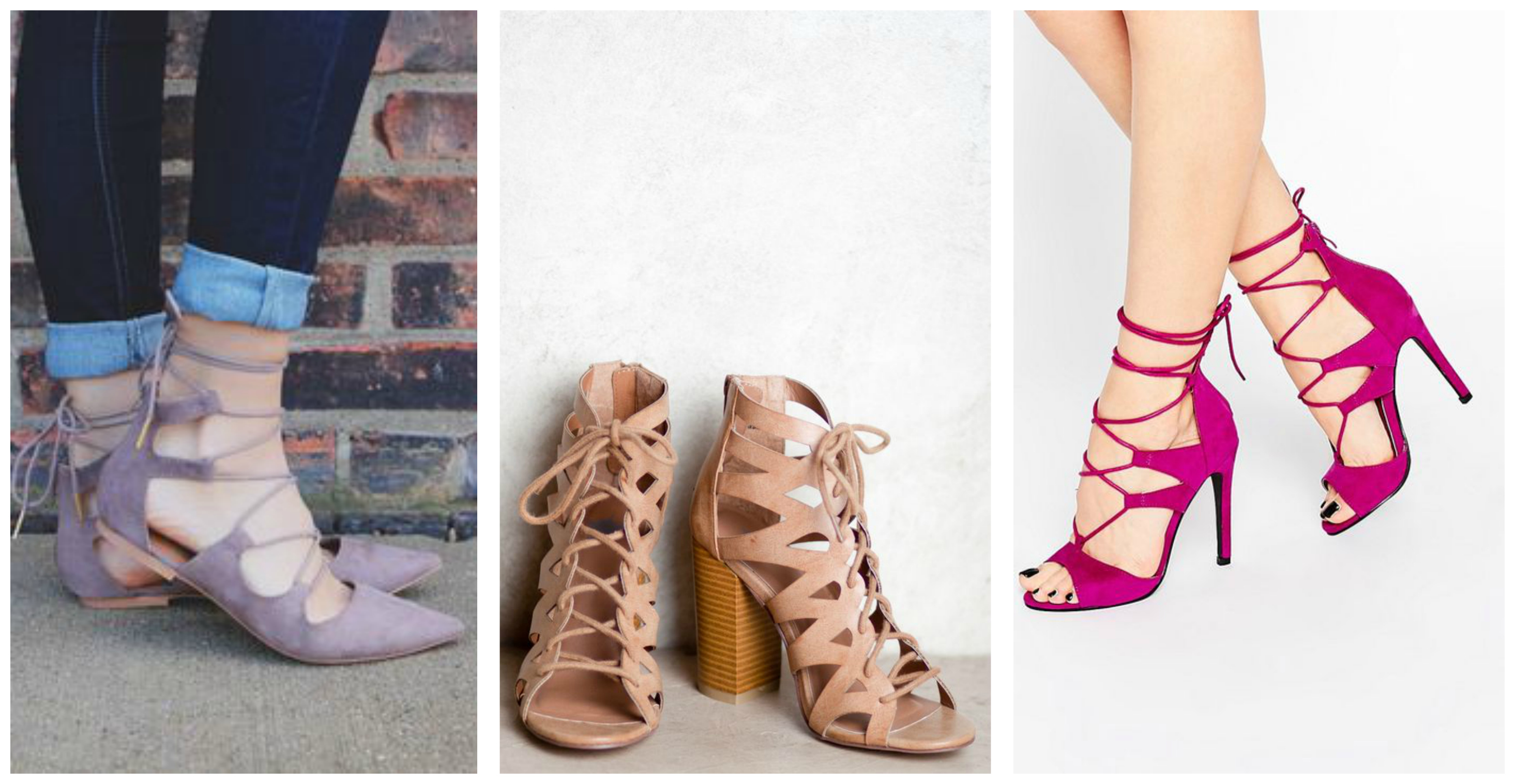 laced up shoes spring inspiration