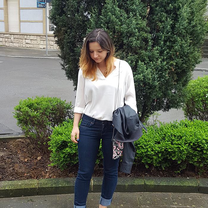 White Shirt for Spring