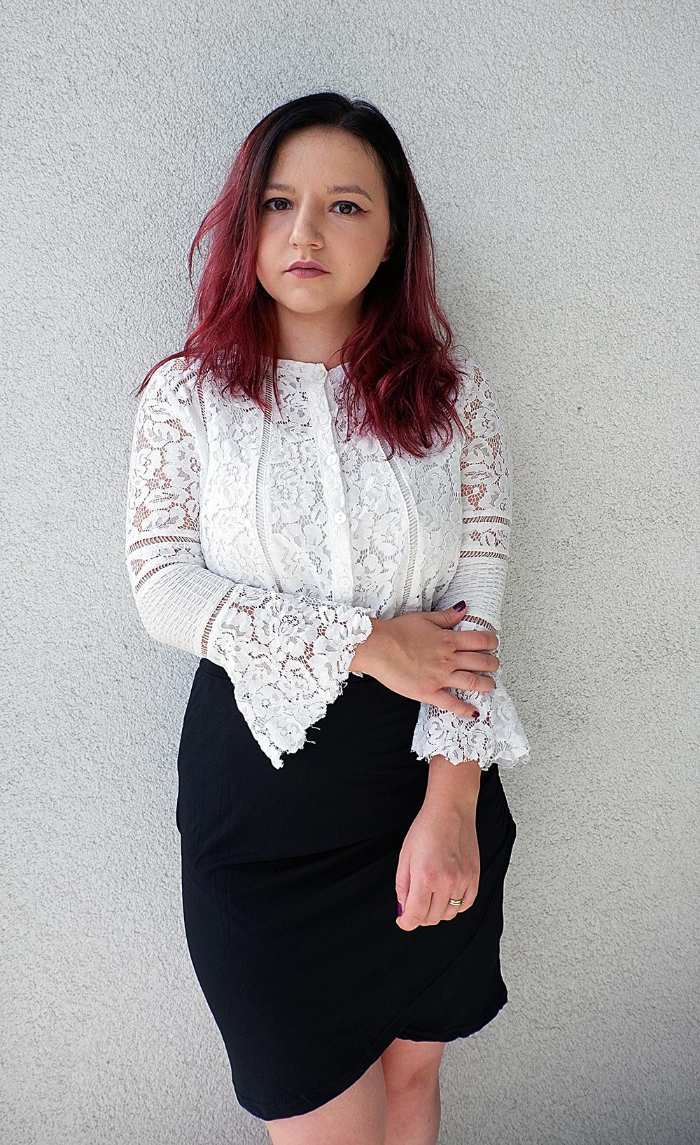 Feminine Fall Fashion - Lace