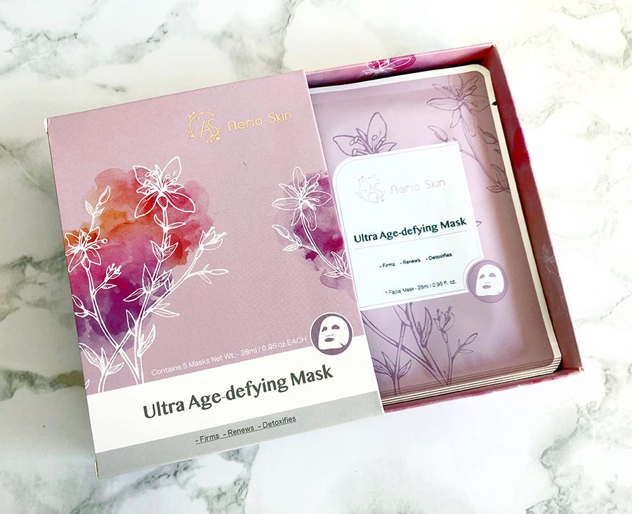 taiwanese beauty aeriaskin anti aging sheet mask