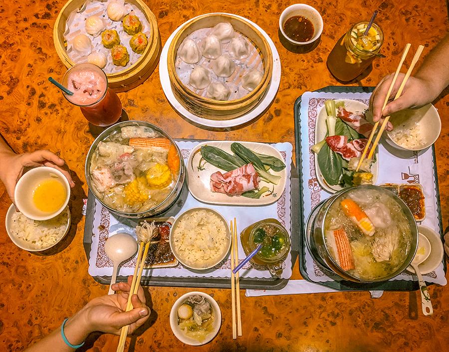 jiufen taiwanhot pot meal
