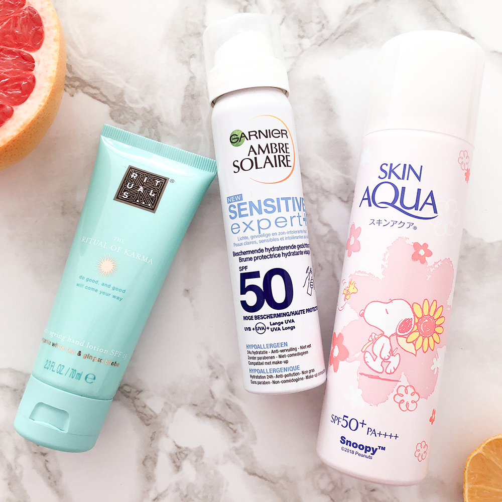 Sunscreen on-the-go to save your skin