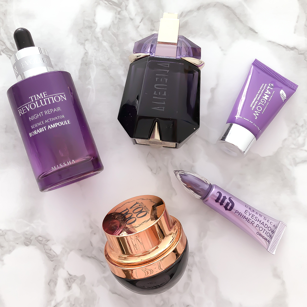 Fed up of Millenial Pink? Check out Purple Beauty!