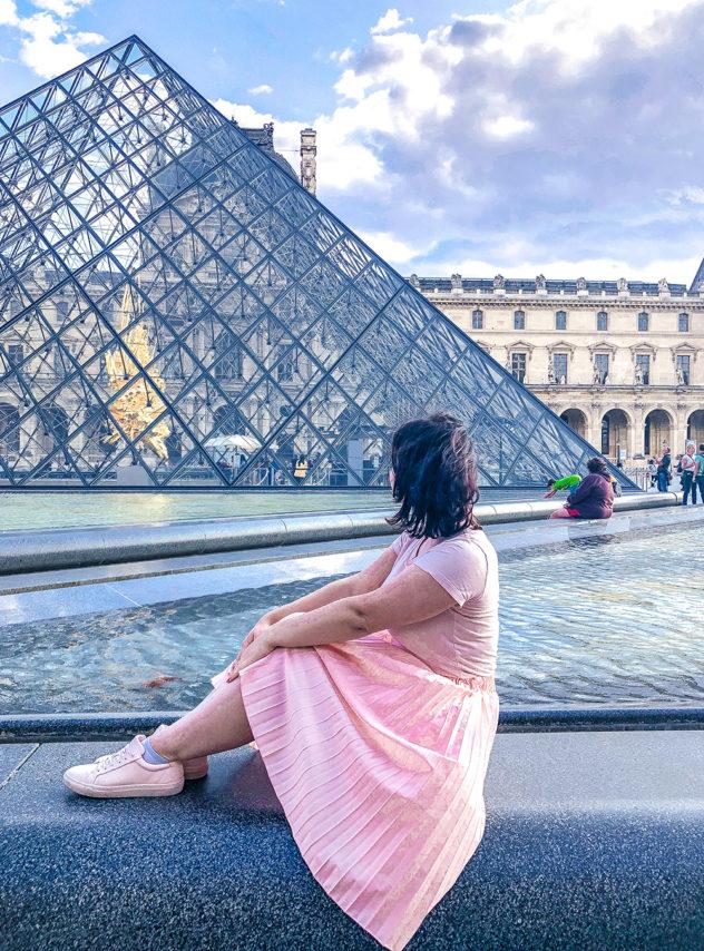 paris 2-day itinerary_louvre museum pyramid