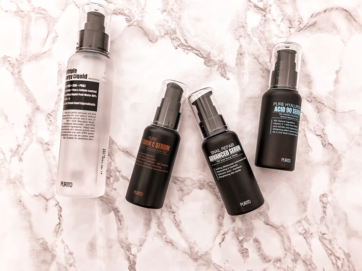 Korean Skincare with Purito Serums
