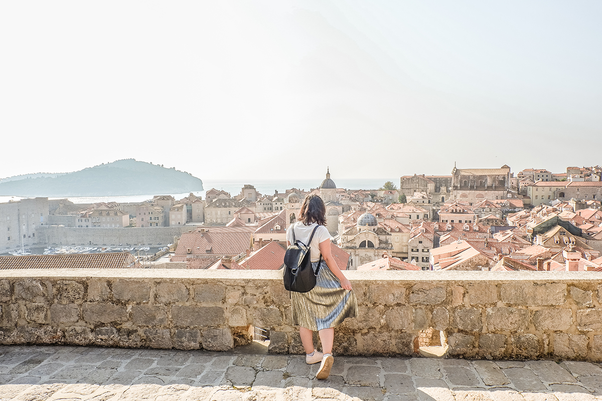 Best things to do in Dubrovnik - view from the city walls