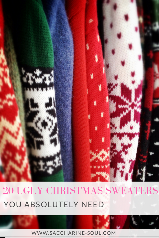 Top 20 ugly Christmas sweaters you absolutely need