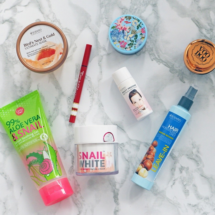 Thai Beauty Haul & Review