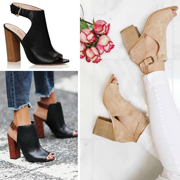 Open-Toed Ankle Boots