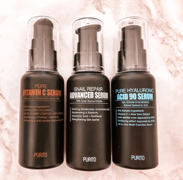 Korean Skincare with Purito Serums