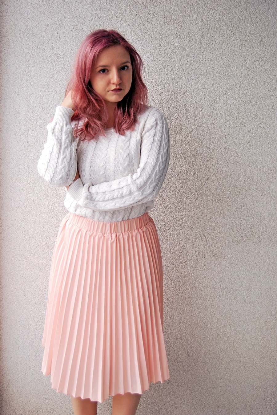 Dare to Wear Pink in Winter