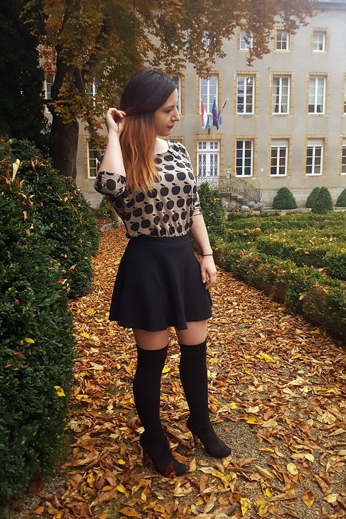 Outfit: Over the Knee Socks