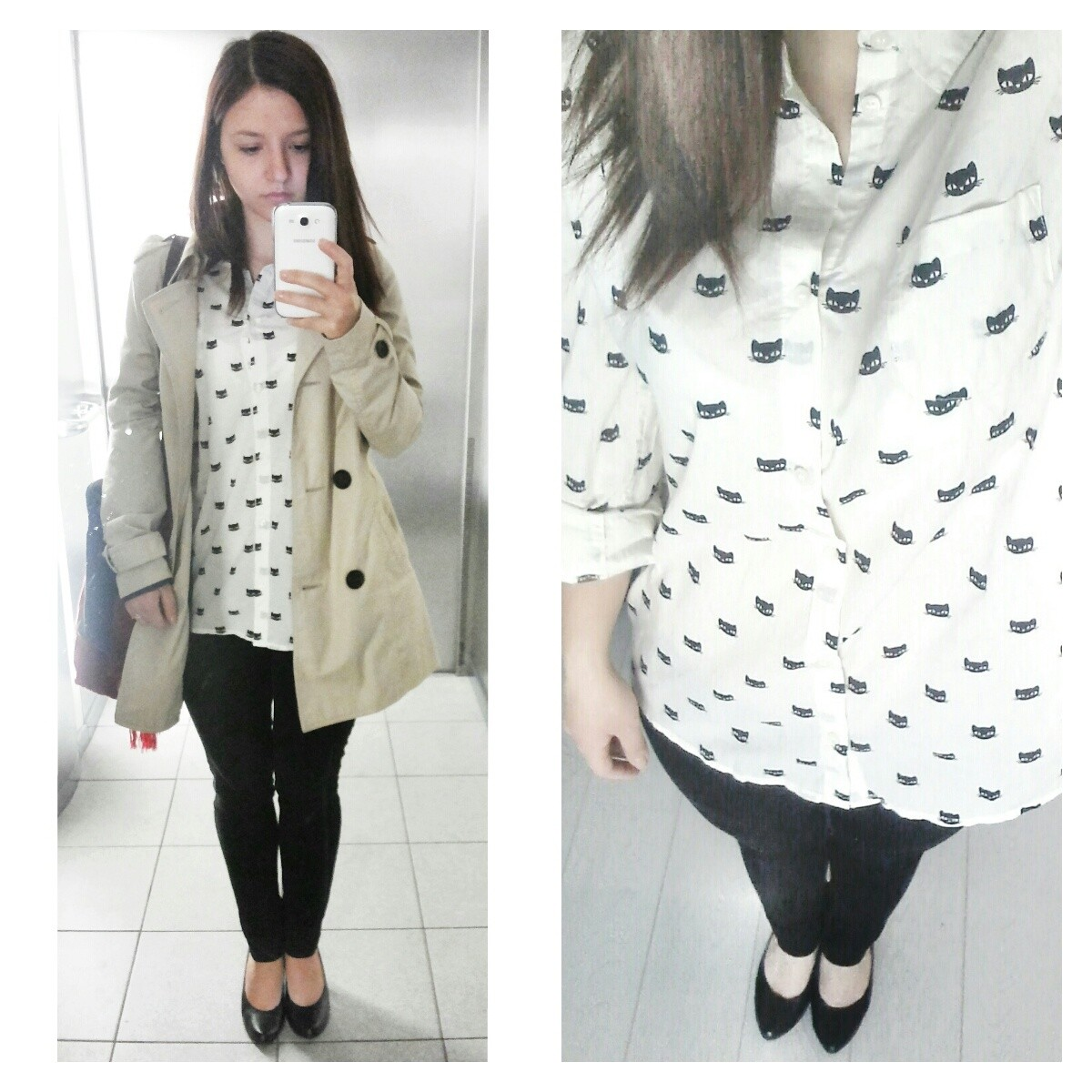 Outfit: Kitty Shirt